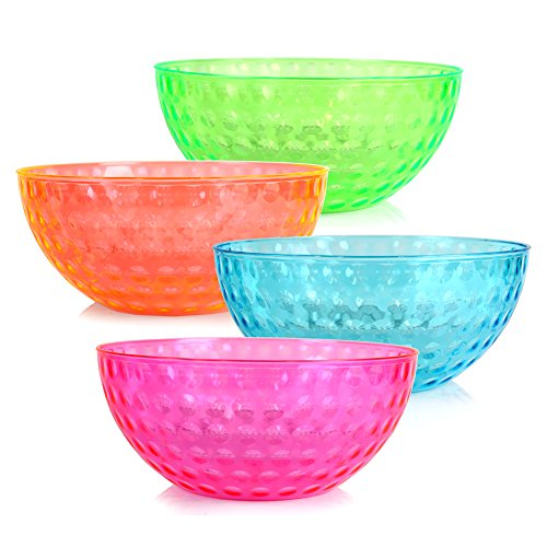 ChefLand Plastic Serving 96 Ounce Colors