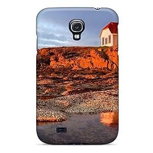 MeSusges Premium Protective Hard Case For Galaxy S4- Nice Design - Patos Isl Lighthouse Washington wangjiang maoyi
