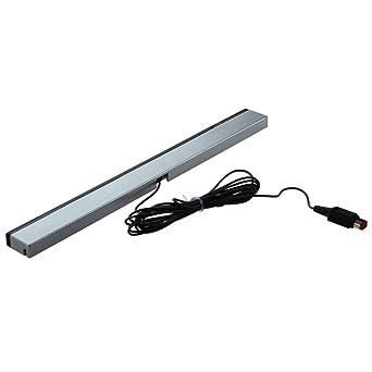 sensoras de movimiento - TOOGOO(R) Barras sensoras de movimiento para Nintendo Wii