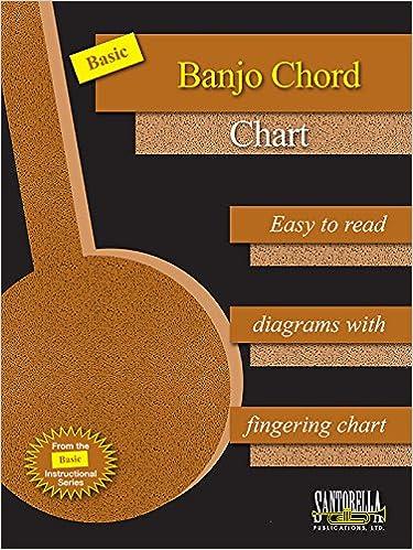 Amazon Basic Banjo Chord Chart 9781890281342 Tina Tomlins