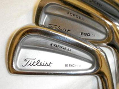 Titleist 690.CB Forged Iron Set 3-PW True Temper Dynamic Gold S300 Steel Stiff Right Handed 38 (Forged Cb Irons)