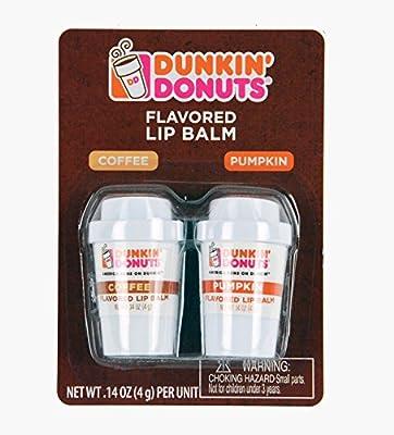 Dunkin Donuts Coffee and Pumpkin Flavored Lip Balm Mini Coffee Cups Mugs