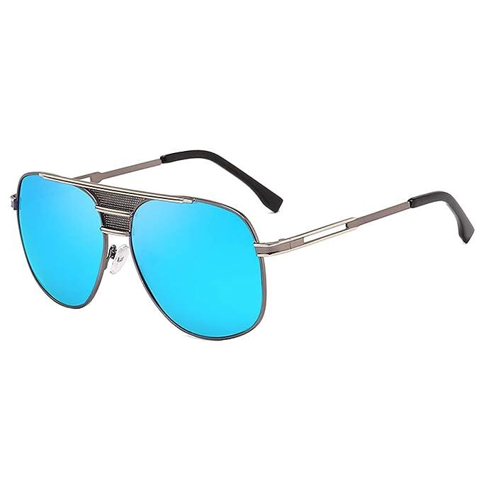 WEIMEITE Gafas de Sol Clásicas Hombres UV400 Retro Aviator ...