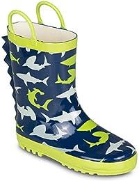 Kids Rainboots, Waterproof, Pull Handles, Fun Prints/Colors