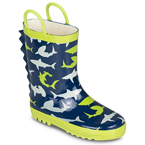 rain boots for boys size 4 - 6
