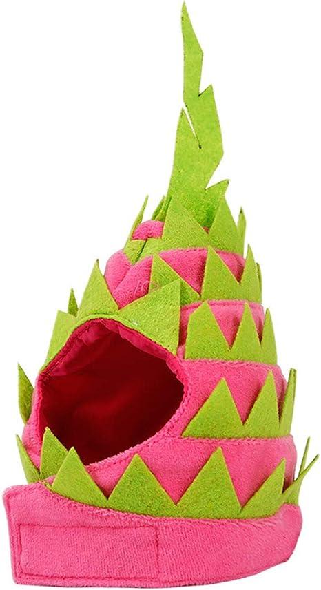 Koobysix Cat Supplies - Sombrero de Pitaya para Perros, Halloween ...