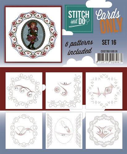 Stitch /& Do Cards Only Set 16