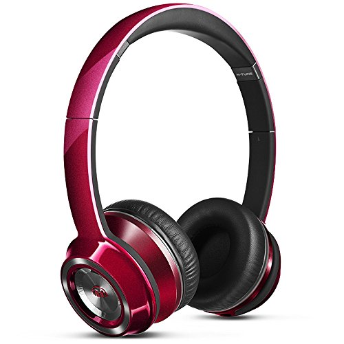 Monster NTune On-Ear Headphones - Candy Red