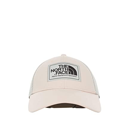 The North Face Mudder Trucker Hat Gorra, Hombre, Pink Salt/Asphalt Grey,