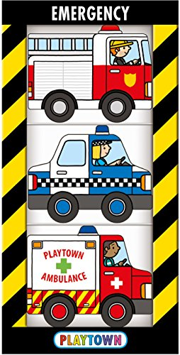Playtown Chunky Pack: Emergency (Chunky 3 (Chunky Pack)