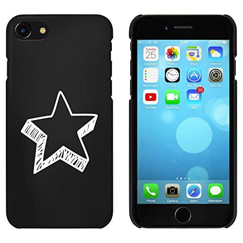 Noir 'Forme d'Étoile' étui / housse pour iPhone 7 (MC00087690)
