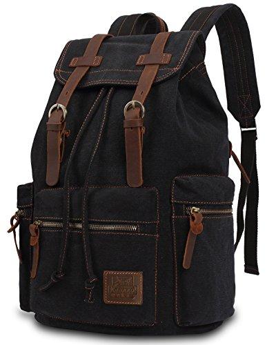 Travel Outdoor Computer Backpack Laptop bag 19''(black) - 7