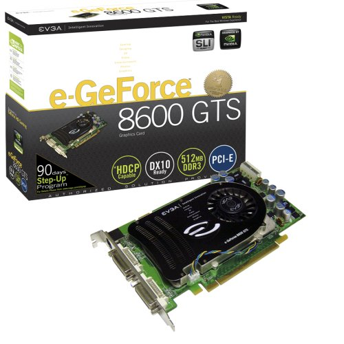 EVGA e-GeForce 8600 GTS Graphics Card