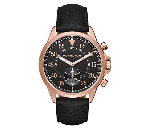 Michael Kors Men's Rose Goldtone Strap Gage Hybrid Watch