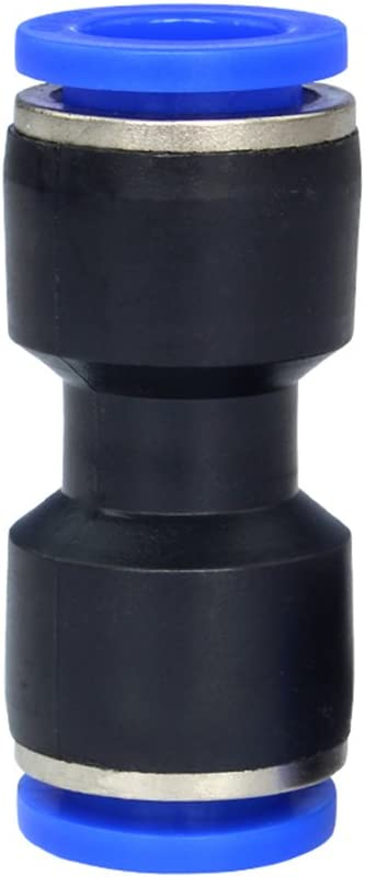 Pack of 10 Metalwork Metric Push in to Connect Tubing Quick Cap Plug Fitting 1//2 Tube OD,