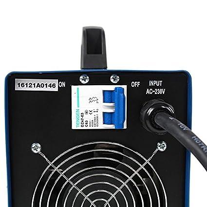 Hyundai MMA-200P Soldadora 230 V, Azul Marino y Negro: Amazon.es: Bricolaje y herramientas