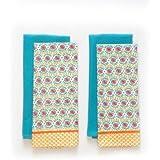 The Pioneer Woman Daisy Chain Kitchen Towel Set, 4pk