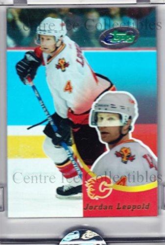 (CI) Jordan Leopold Hockey Card 2003-04 Topps E-Topps 4 Jordan Leopold