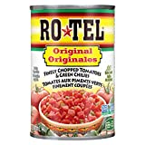Rotel Salsa Original - Finely Chopped Tomatoes & Green Chilies - Case of 12, 12 Count