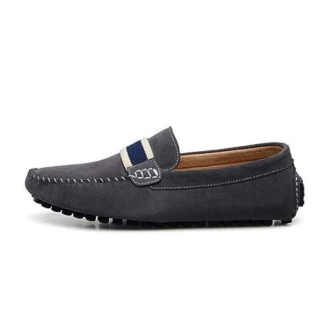 YaXuan Zapatillas de Deporte con Cordones, Mocasines y Calzado Deportivo Slip-Ons de Calzado