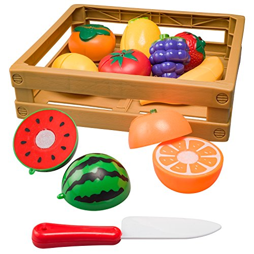 Kitchen Pretend Cutting Fruit Playset product image