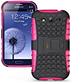 Heartly Armor Rugged Back Case For Samsung Galaxy Grand Duos I9082 / Galaxy Grand Neo Gt-I9060 / Galaxy Grand Neo Plus I9060I - Pink