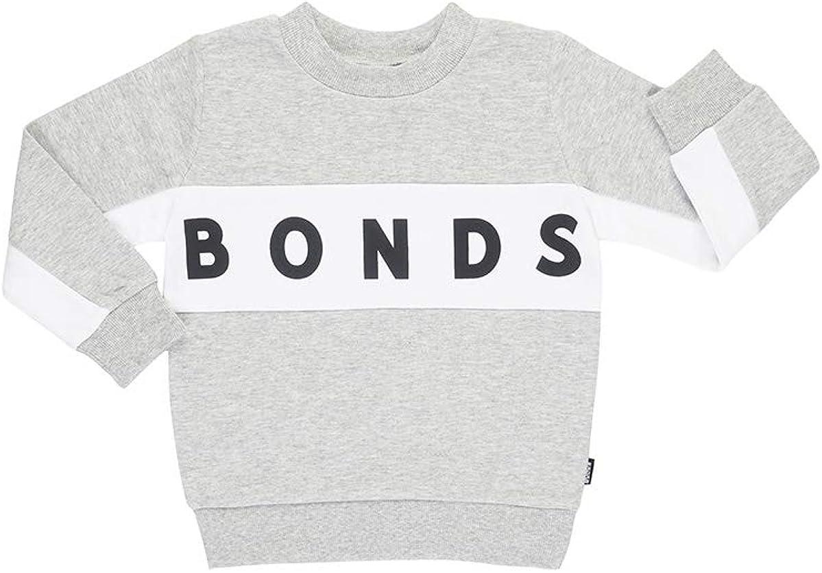 Grey Marl//White Bonds Logo Pullover