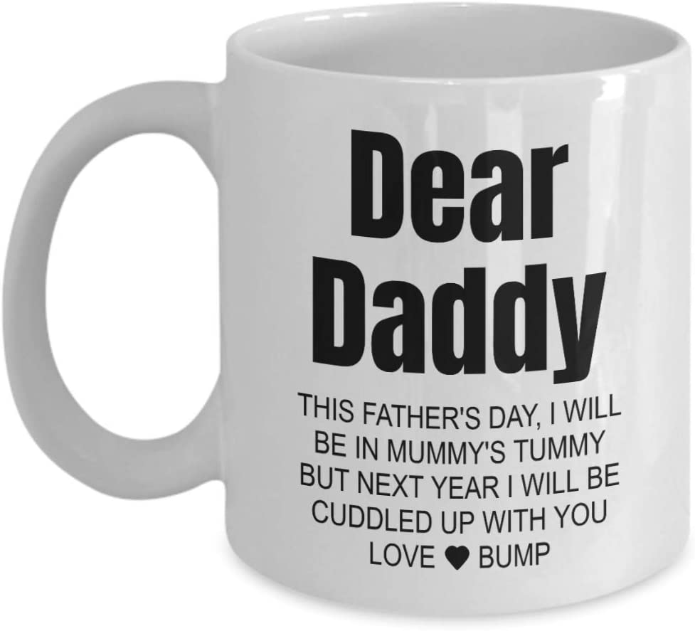 Dad Daddy to Be Merry Christmas Card Present Gift from The Bump KEEP CALM