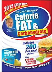 The Calorieking Calorie Fat Amp Carbohydrate Counter 2012