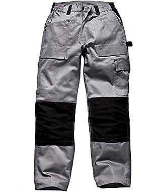 Men's Grafter Duo Tone Trousers 32 Regular Grey!