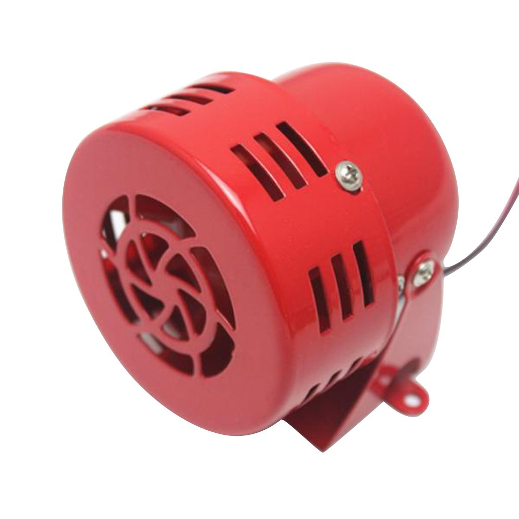 Durable 12V Heavy Duty Loud 110db Air Raid Alarm Siren for Car Truck SUV Motorcycle Generic