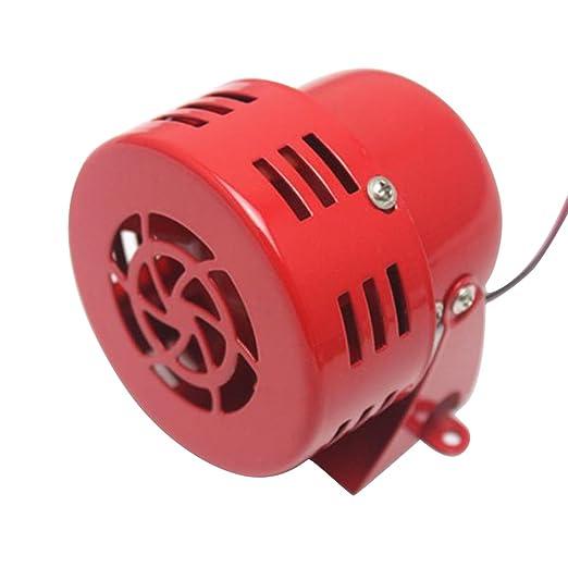 12v Electrico Alarma Sirena Para Carro Coche Motocicleta Amazon Es