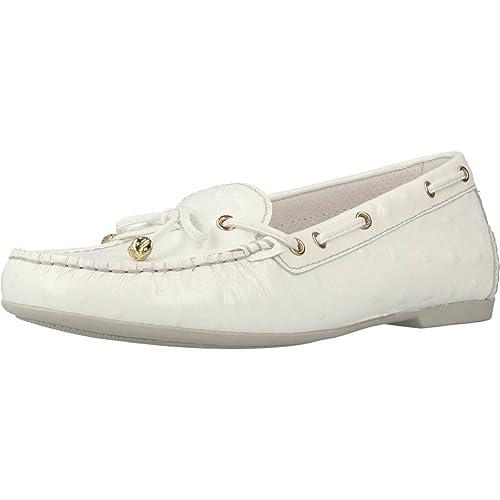 Mocasines para Mujer, Color Blanco, Marca STONEFLY, Modelo Mocasines para Mujer STONEFLY 106124 Blanco: Amazon.es: Zapatos y complementos