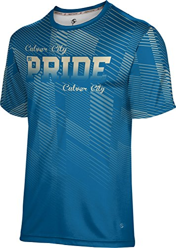 ProSphere Men's Culver City High School Bold Shirt (Apparel) - 90230 Culver City