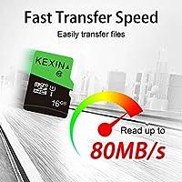 KEXIN TF Tarjeta de Memoria Micro SD de 16 GB MicroSDHS de hasta 70 MB/s, Tarjeta Externa UHS-1 Class 10 para Cámara Deportiva, IPC Cámara, Smartphone,Drone [3 Pack * 16GB]: Amazon.es: Informática
