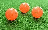 PrideSports PAWB5612 Orange Perforated Practice