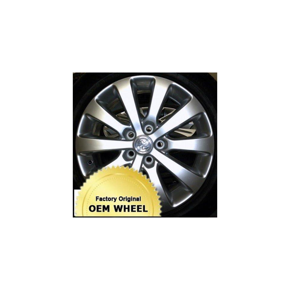 Buick  Verano  17  5 115  10 Spoke  Factory Oem Wheel Rim   Silver Finish   Remanufactured