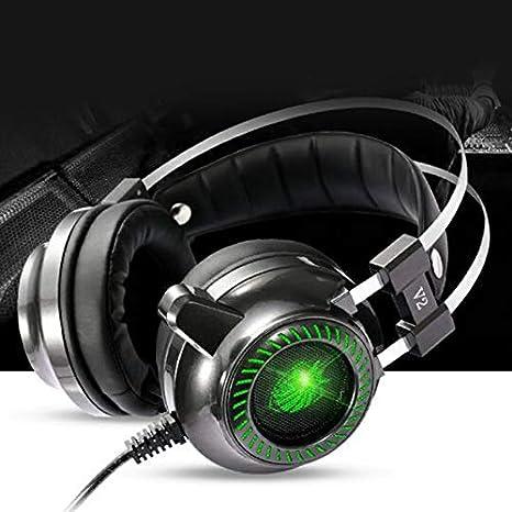 ShenyKada Profesional Gaming de Auriculares decodificadores USB ...