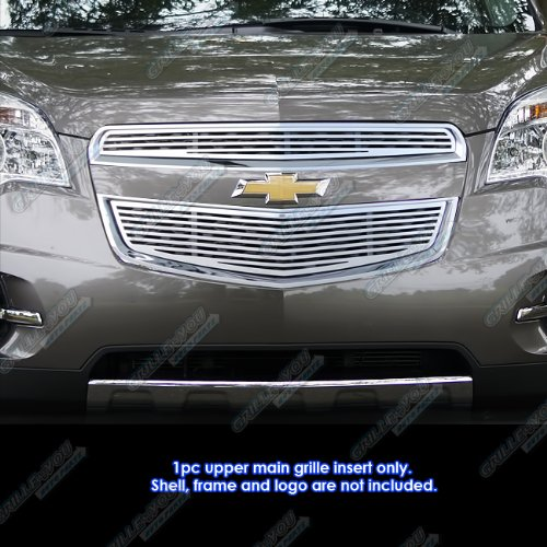 Fits 2010-2015 Chevy Equinox Perimeter CNC Machined Billet Grille Insert #C96738A