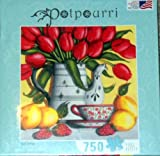 Red Tulips 750 Piece Jigsaw Puzzle