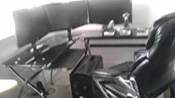 thus desk is sleek beautiful and looks way more pricey than it is black glass top corner