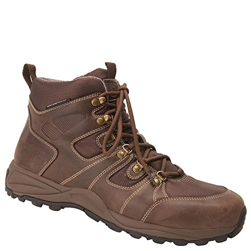 - Drew Men's Trek Waterproof Boot Dark Brown Leather 9 EEEEEE US