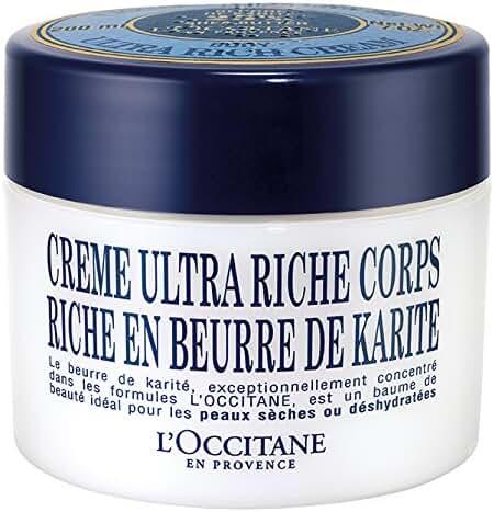L'Occitane Shea Butter Ultra Rich Body Cream, 7 Oz