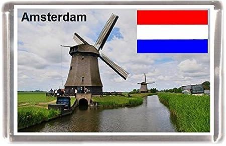 Amsterdam souvenir regalo souvenir imán para nevera: Amazon.es: Hogar