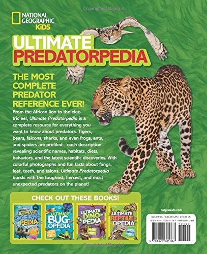 Ultimate Predatorpedia: The Most Complete Predator Reference Ever (National Geographic Kids)