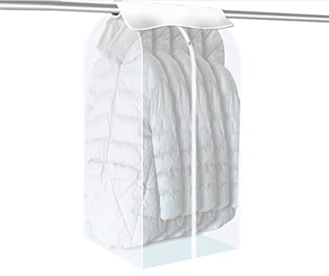 Captivating Multill Clear Garment Bag Clothes Dust Cover Bag Closet Storage Hanging Bag  Dustproof Covers For Clothes
