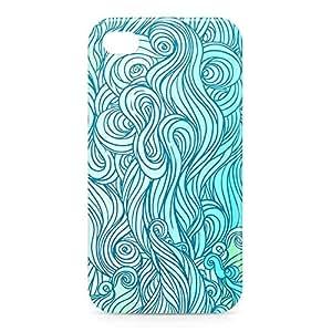 Waves iPhone 4s 3D wrap around Case - Design 5