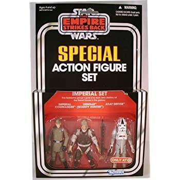 Kenner Star Wars The Empire Strikes Back Special Exclusive Action Figure 3Pack Imperial Set Commander Dengar ATAT Driver