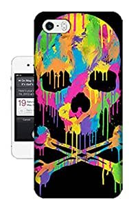 Sweet Melted Death Hard Cover Case for Apple iPhone 5/5S Designed by Bradley's Shop