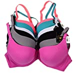 Love Pink Women Bras 6 Pack Of Plain Bra B Cup C Cup (36C)